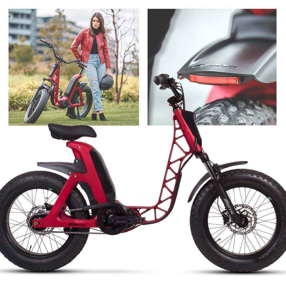 New FANTIC E-BIKE 「ISSIMO(イッシモ)」